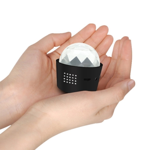 Mini USB Disco Glitter Ball Light For Cars Party Bedrooms Self-voice Control
