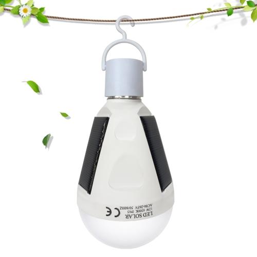 Bombilla LED de emergencia con energía solar de 12W