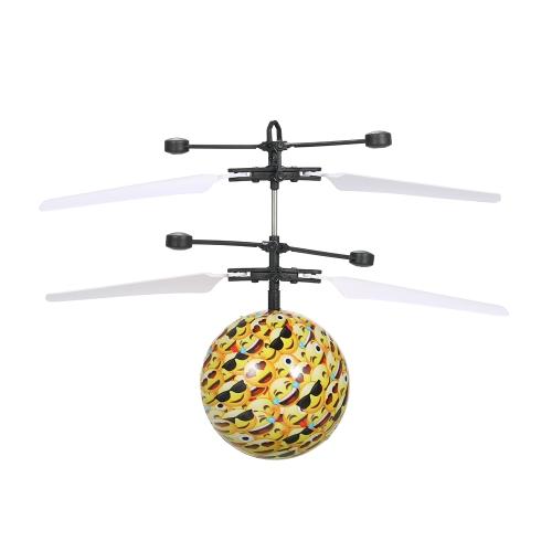 Левитированный световой интеллектуальный датчик Вспышка летающего вертолетного шара