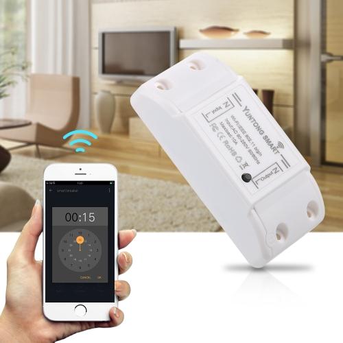 2Pack Yuntong Wifi Schalter Wireless Smart Breaker mit Fernbedienung Sprachsteuerung