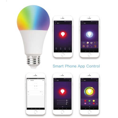 AC100-240V 9W Dimmable Smart Intelligent Bulb