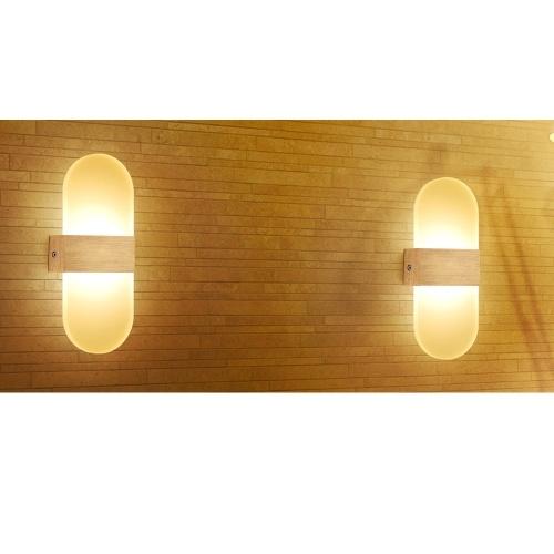 Lampe d'applique murale LED allée coulissante Creative couloir