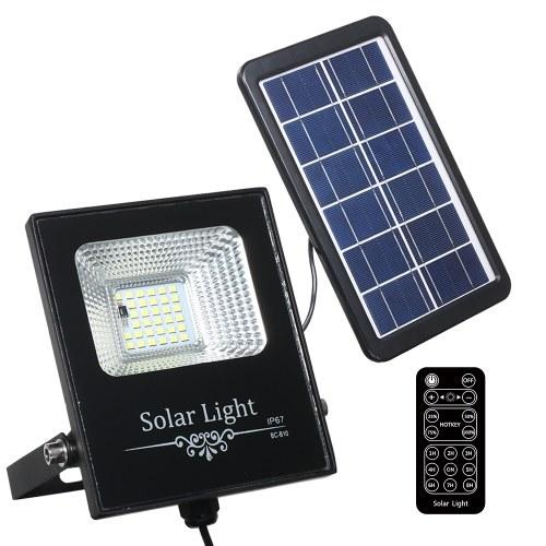 Luces de inundación solares de DC6V 5W 33 LED