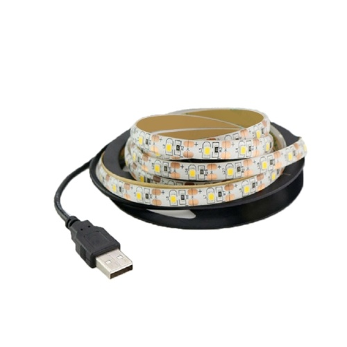 DC5V 12W Led light with battery box induction DC waterproof led light strip