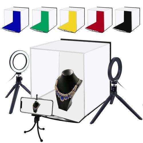 PULUZ 30*30cm Portable LED Photo Lightbox