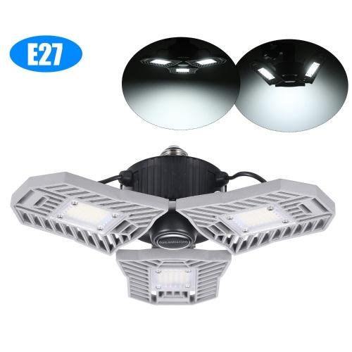 AC85V-265V 60W Energy-Saving Deformable Lamp LEDs Motion Sensor Light for Factory Workshop Warehouse Garage Exhibition Hall Stadium Mine Market