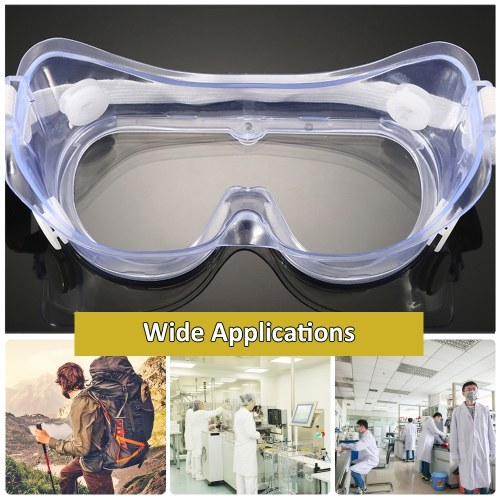 Safety Goggles Transparent Protective Glasses Eyewear-Prevent Anti-UV Anti-splash Anti-scratch Anti-shock Eye Protection