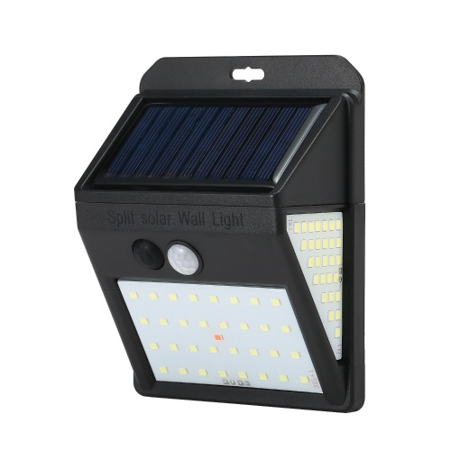 88 светодиодов солнечная отделенная лампа датчика обнаружения движения с индикатором заряда