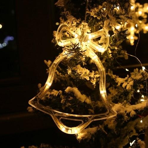 LED Christmas Fairy Hanging Light Christmas Window Wall Decor Lights pour mariage en chambre