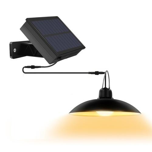 16 LEDs Solarbetriebene Anhänger Lampe Hanging Shed Light