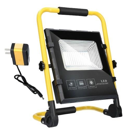 167LED Lámpara solar LED Lámpara de reflector 2 modos de iluminación Área de iluminación 150㎡ Función de banco de energía Rojo Azul Luz blanca intermitente