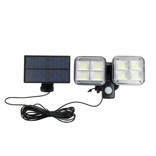 120 LEDs Split Type Solar Light PIR Motion Sensor Outdoor Wall Lamp Sensitive Lighting Control