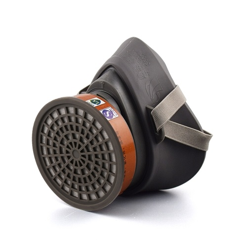 JXYUEXING Painting Spraying Gas Mask Respirator Activated Carbon Mask Anti-particulate Filters Anti-dust Anti-fog Mask