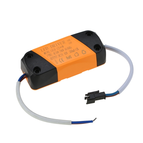 AC100-240V DC24-40V LED Driver Power Supply Adapter Transformer Switch for Spotlight Ceiling Down Lamp