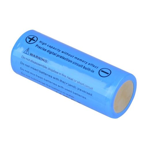 Lixada 2pcs 26650 wiederaufladbare Batterie