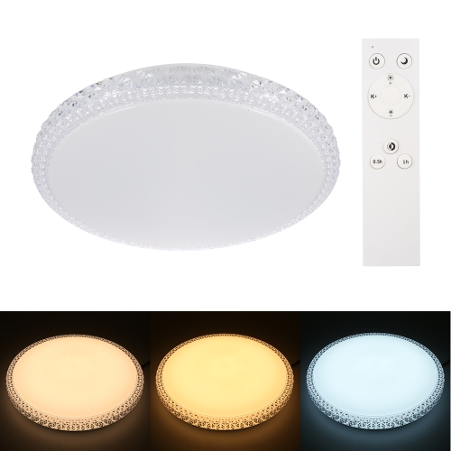 36W 168PCS SMD2835 LED Circular Ceiling Light with Remote Control