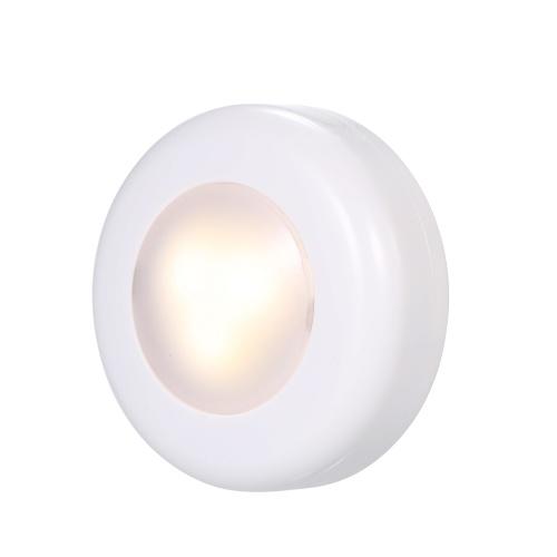 LED Under Cabinet Lamp Puck Light- 3er Pack