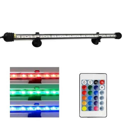 AC110-240V 2.4W LED lámpara sumergible para acuarios RGB