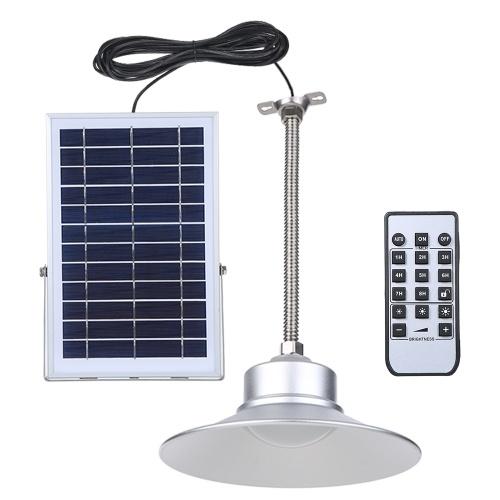 Plafoniera solare a sospensione con impostazione dell'ora del telecomando