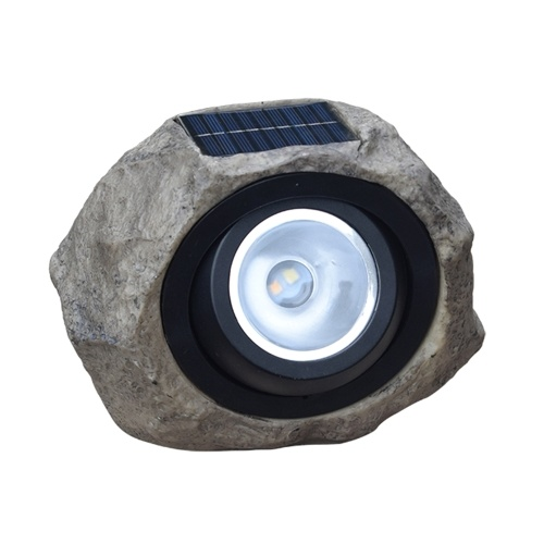 Solar Powered Lamp Simulation Stone Lawn Light