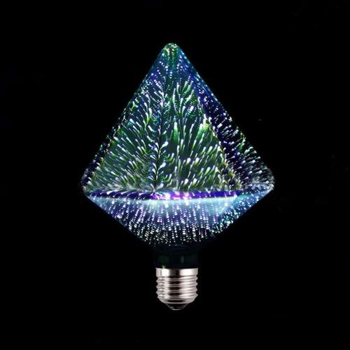 3D Firework Bulb E27 LED Bombillas