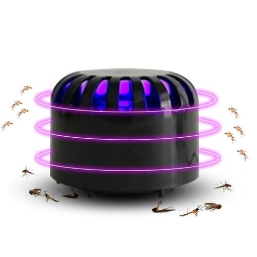 DC5V USBパワード蚊キラーランプ電子UVバグザッパー吸引ファン昆虫トラップ抗蚊ディスペラ
