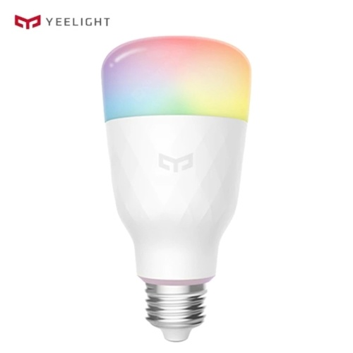 Yeelight YLDP15YL 8.5W Wi-Fi RGB LED Bombilla de luz inteligente