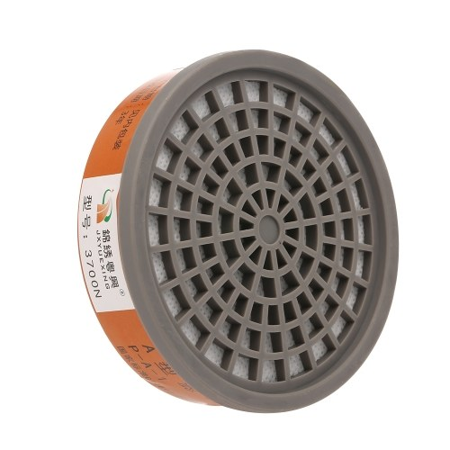 JXYUEXING1pc Gas Mask Filter Chemical Activated Carbon Box Cartridge Anti Dust Painting Spraying Filter Box