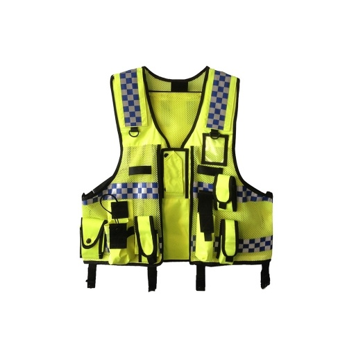 High Visibility Reflective Men Women Breathable Safety Vest
