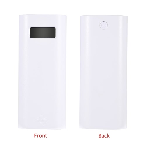 Soshine Power Bank Charger Source 2 Slot LCD Display USB Power DC 5V 1A/2.1A  Rechargeable 2 * 18650 Battery for Flashlight Torch Smartphone