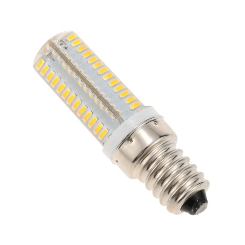 220V E14 Screw Base 3014 SMD LED Silica Gel Mini Corn Light Bulb for Pendant Chandelier Desk Table Decoration Lamp