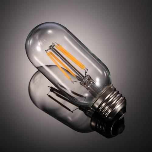 TOMSHINE 4W T45 LED Filament Bulb Light AC220-240V E27 Base Vintage Retro Holiday Festival Decorations Warm White