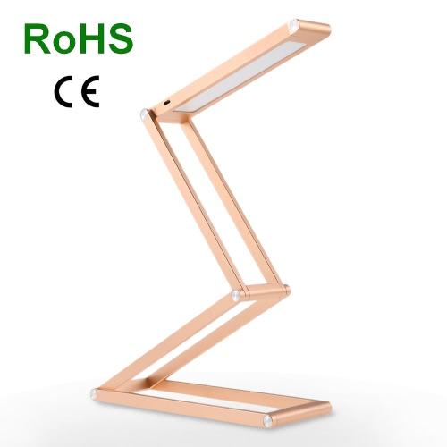 Tomshine Wiederaufladbare Multifunktions-Portable Faltbare LED-Schreibtischlampe