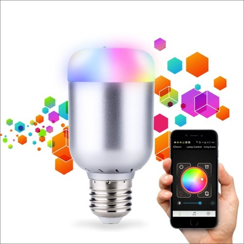 LIXADA 6W E27 550LM Smart BT RGBW LED Bulb