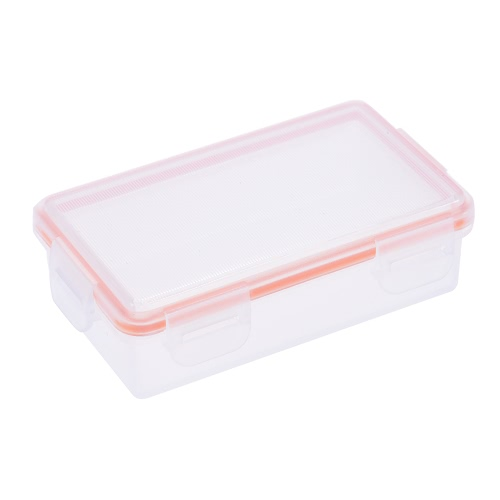 Transparent twardego plastiku Wodoodporna baterii ochronna Box Holder Storage Case do 18650 bateria (2-Pack) / CR123A Bateria (4-Pack)