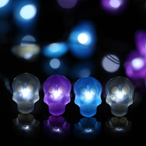 Halloween Kürbis Lichterkette 40 LEDs 3m / 10ft Batteriebetriebene Lichterkette