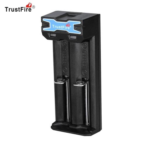 TrustFire TR-016 Portable Universal 2 Slot USB Chargeur de batterie Système de charge