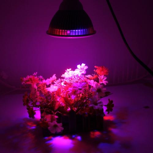 Tomshine llevado crece la planta bombilla de luz E27 24W
