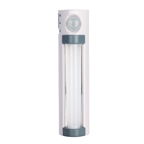 Long LED IR Sensor Light Tube Human Body Sensing Cabinet Wall Hallway Rechargeable Battery Power Light Induction Corridor Kitchen Study Room Washroom