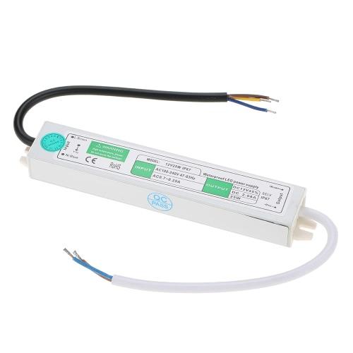 12V водонепроницаемый IP67 светодиодный трансформатор питания для внутреннего и наружного монтажа