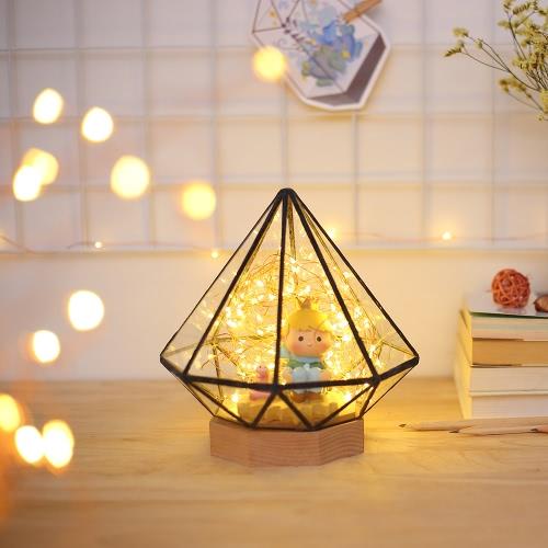 Lámpara de noche de cabecera de árbol de fuego creativo simple