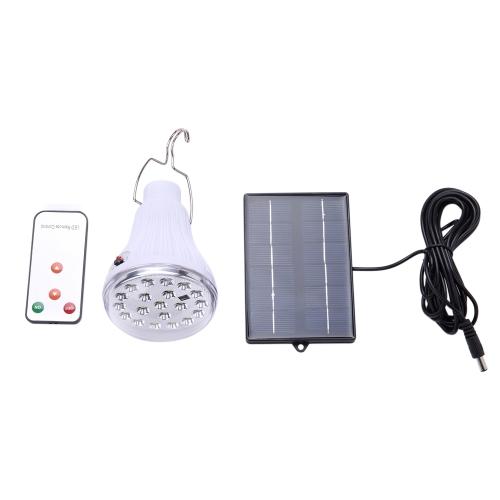 Солнечная светодиодная лампа с солнечной панелью