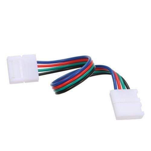 10 Pack 4 Pin Extension Weld Line для RGB LED Strip Light