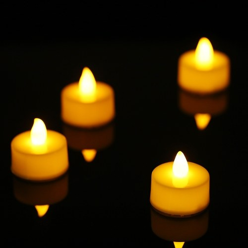 4 Pack Светодиодный пламя мерцающий эффект Свеча Лампа