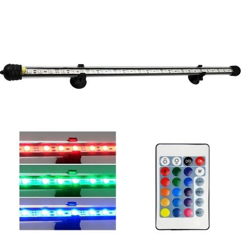 AC110-240V 5.4W 27 LED RGB Submersible Aquarium Lamp