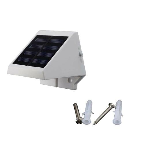 Lámpara de seguridad para jardín con vallas de energía solar