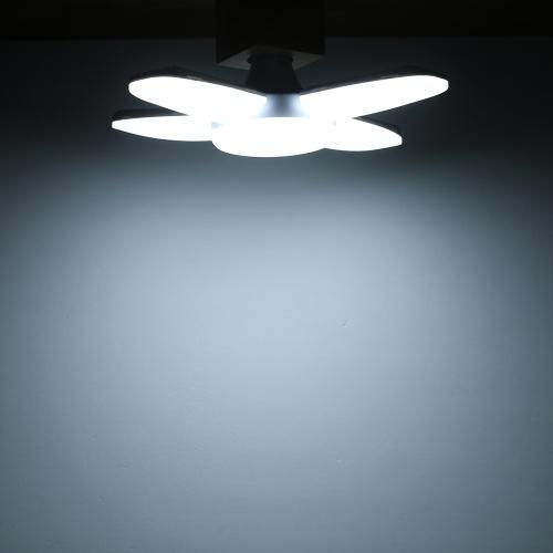 60W 85-265V 3000-3500K Lámpara de garaje plegable portátil de ahorro de energía segura