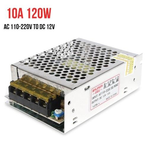 AC 110 В / 220 В К 12 В 10A 120 Вт Источники питания Переключатель трансформатора Адаптер преобразователя Драйвер