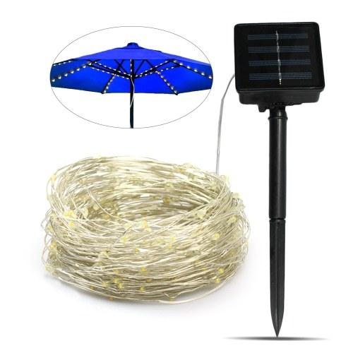 Luz de cadena de paraguas de energía solar 120LEDs