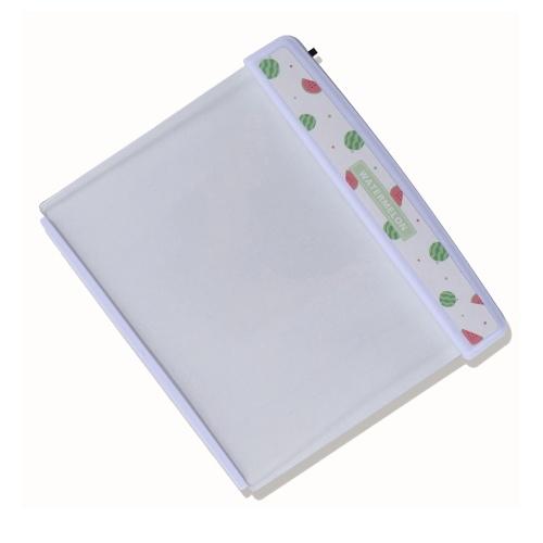 Lâmpada de leitura de placa plana de melancia Lâmpada de proteção ocular Lâmpada de leitura noturna portátil para viagem